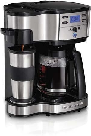 Hamilton Beach 2-Way Coffee Maker 49980A