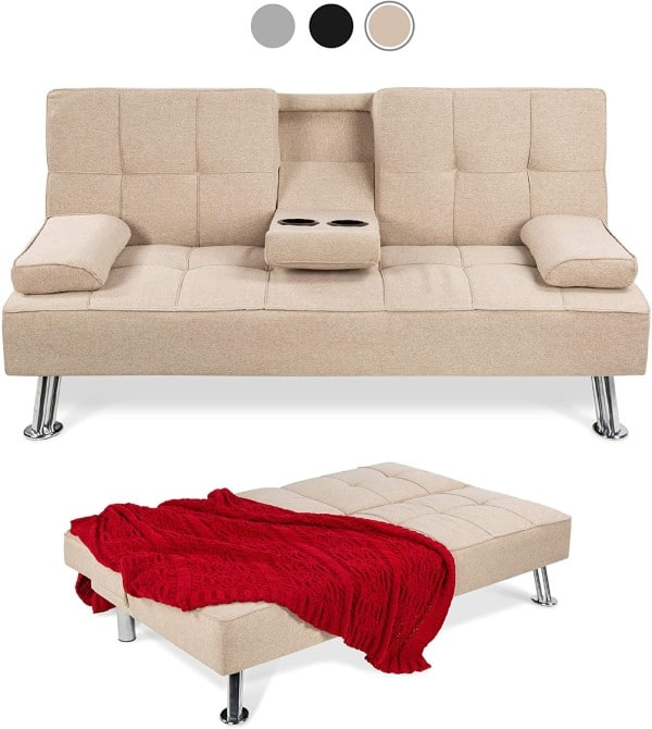 Convertible Futon Sofa by Best Choice Products